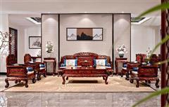 雙獅迎福沙發