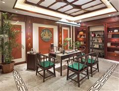 卓木王紅木 紅酸枝茶桌 雅致茶室空間 紅木茶桌 新中式茶室 紅木家具定制
