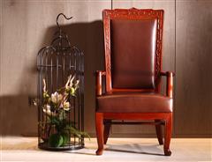 卓木王红木 缅甸花梨椅子 人民大会堂委员长椅 红木椅子 新中式椅子 中式家具定制