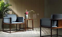 地天泰·国雅 明韶休闲椅 新中式家具 非洲紫檀 休闲系列 客厅系列