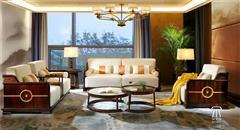 东成红木 东成·文宋 黑酸枝沙发套装  和风沙发  当代中式家具 阔叶黄檀新中式 新中式客厅系列